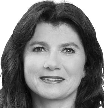 Foto von Doris Schäfer in schwarz-weiß
