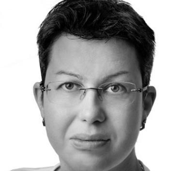 Foto von Susanne Buchberger in schwarz-weiß